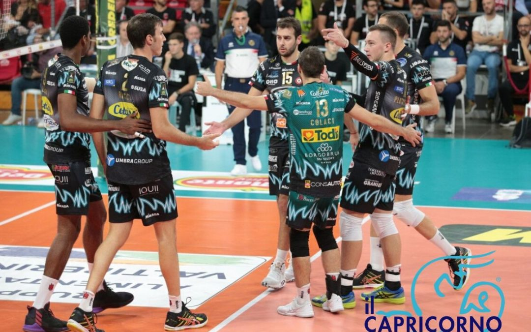 Il capricorno è sponsor Ufficiale 2019-2020 di Sir Safety Volley