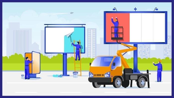 Installazioni pubblicitarie